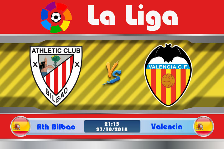 Soi kèo Ath Bilbao vs Valencia 21h15, ngày 27/10: Bầy Dơi vượt khó