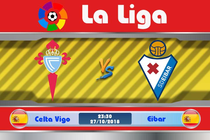 Soi kèo Celta Vigo vs Eibar 23h30, ngày 27/10: Đập nát quá khứ