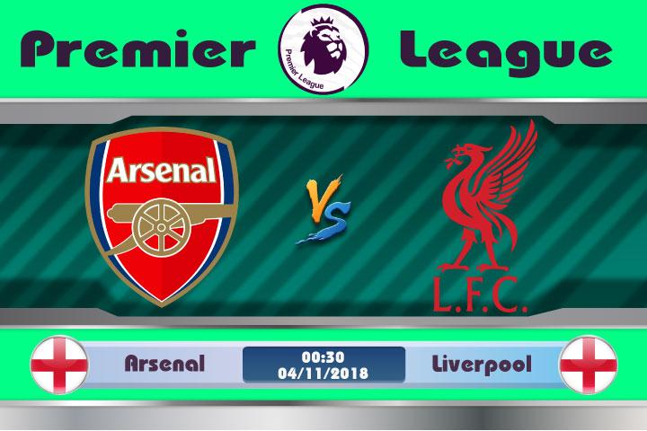 Soi kèo Arsenal vs Liverpool 00h30, ngày 04/11: Sắc đỏ bao trùm