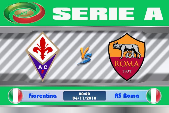 Soi kèo Fiorentina vs AS Roma 00h00, ngày 04/11: Thử thách khó khăn