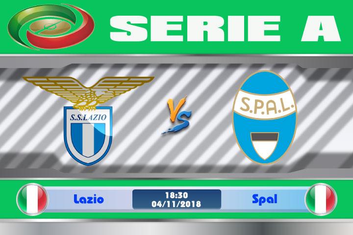 Soi kèo Lazio vs Spal 18h30, ngày 04/11: Khôi phục phong độ
