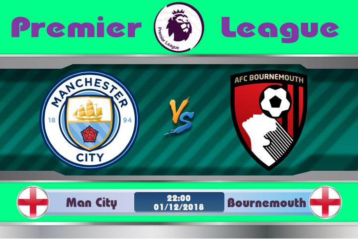 Soi kèo Man City vs Bournemouth 22h00, ngày 01/12: Không thể cản phá