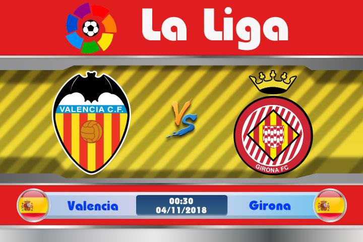 Soi kèo Valencia vs Girona 00h30, ngày 04/11: Bầy Dơi vùng lên