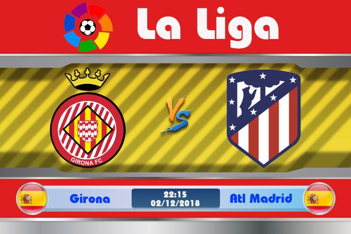 Soi kèo Girona vs Atletico Madrid 22h15, ngày 02/12: Lịch sử có lặp lại