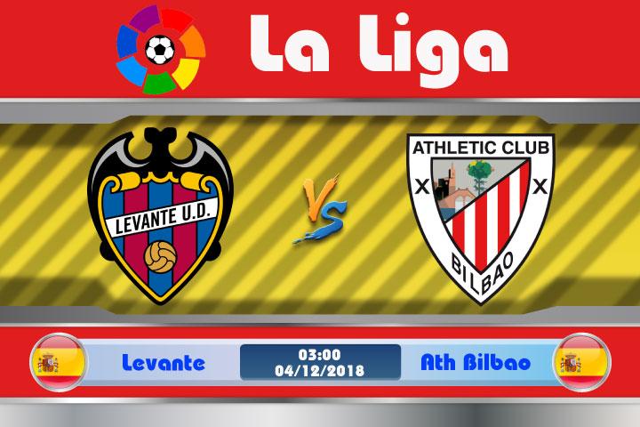 Soi kèo Levante vs Ath Bilbao 03h00, ngày 04/12: Qua rồi thời đỉnh cao