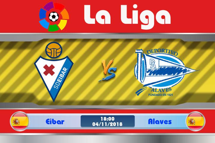 Soi kèo Eibar vs Alaves 18h00, ngày 04/11: Hiện tượng mang tên Alaves