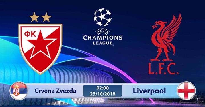 Soi kèo Crvena zvezda vs Liverpool 00h55, ngày 07/11: Dư âm còn đó