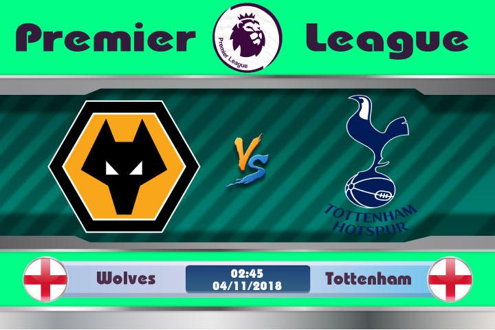 Soi kèo Wolves vs Tottenham 02h45, ngày 04/11: Kết quả khó lường