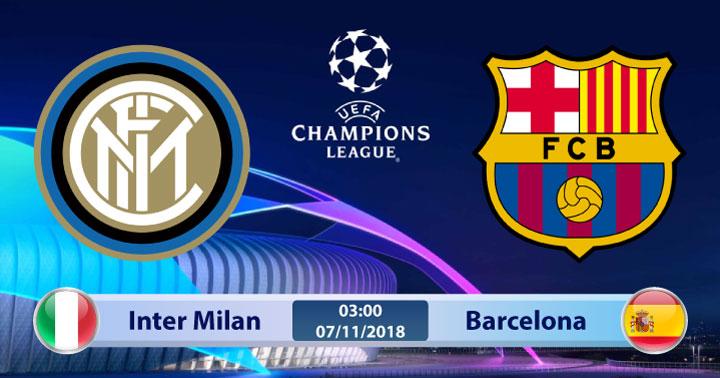 Soi kèo Inter Milan vs Barcelona 03h00, ngày 07/11: Cơ hội cuối cùng
