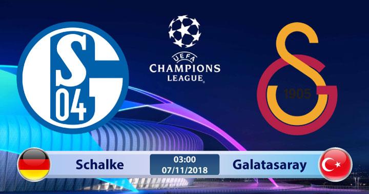 Soi kèo Schalke vs Galatasaray 03h00, ngày 07/11: Yếu thế khi xa nhà