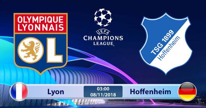 Soi kèo Lyon vs Hoffenheim 03h00, ngày 08/11: Chủ nhà chật vật