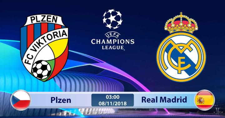 Soi kèo Plzen vs Real Madrid 03h00, ngày 08/11: Không còn gì để mất