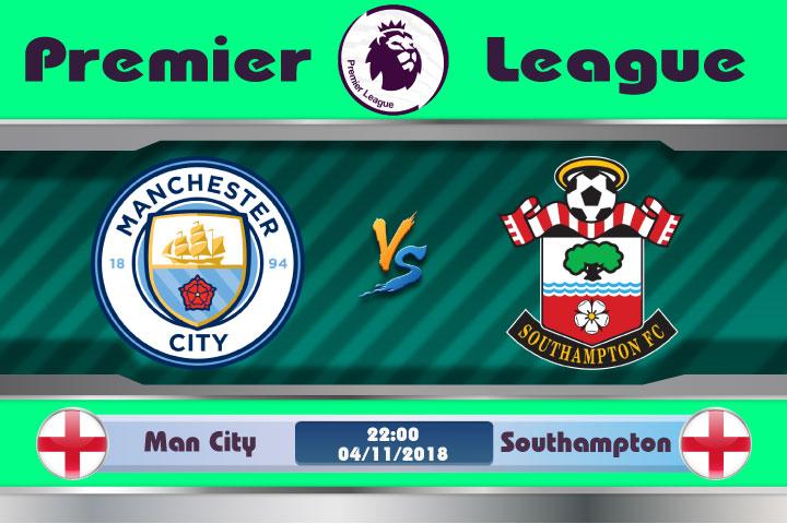 Soi kèo Man City vs Southampton 22h00, ngày 04/11: 3 điểm không khó