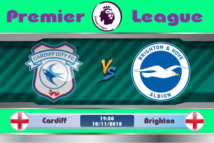 Soi kèo Cardiff vs Brighton 19h30, ngày 10/11: Không quá xa lạ