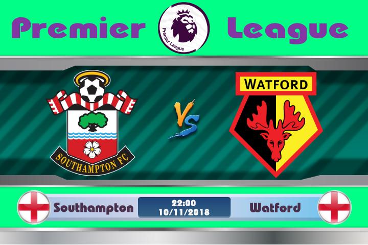 Soi kèo Southampton vs Watford 22h00, ngày 10/11: Chủ nhà yếu thế