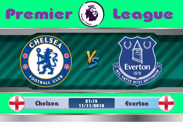 Soi kèo Chelsea vs Everton 21h15, ngày 11/11: Phong độ vững chắc