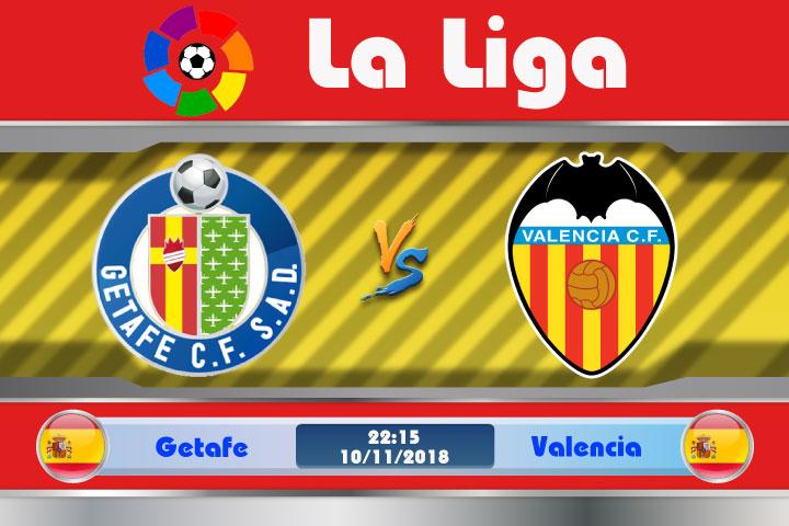 Soi kèo Getafe vs Valencia 22h15, ngày 10/11: Khắc tinh xuất hiện