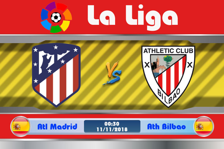 Soi kèo Atletico Madrid vs Ath Bilbao 00h30, ngày 11/11: Mối thù sâu đậm