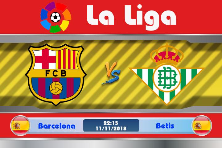 Soi kèo Barcelona vs Betis 22h15, ngày 11/11: Lại đến vùng tử địa