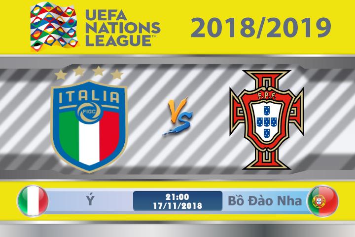 Soi kèo Ý vs Bồ Đào Nha 02h45, ngày 18/11: Còn nước còn tát