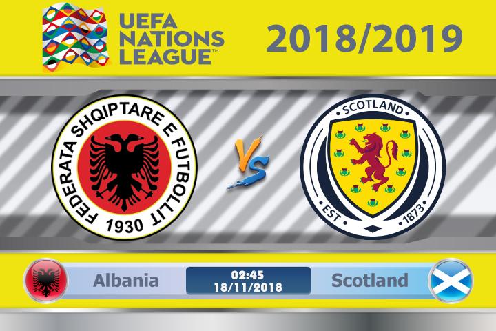 Soi kèo Albania vs Scotland 00h00, ngày 18/11: Đẳng cấp hay phong độ