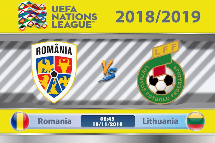 Soi kèo Romania vs Lithuania 02h45, ngày 18/11: Không còn động lực