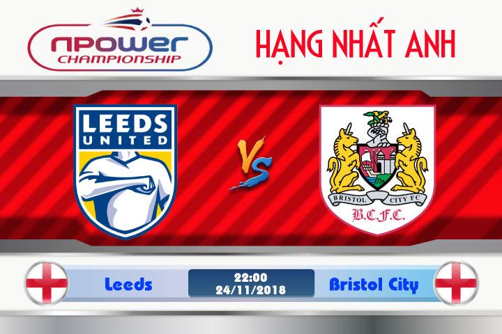 Soi kèo Leeds vs Bristol City 22h00, ngày 24/11: Chủ nhà trút cơn giận