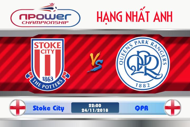 Soi kèo Stoke City vs QPR 22h00, ngày 24/11: Bại binh phục hận