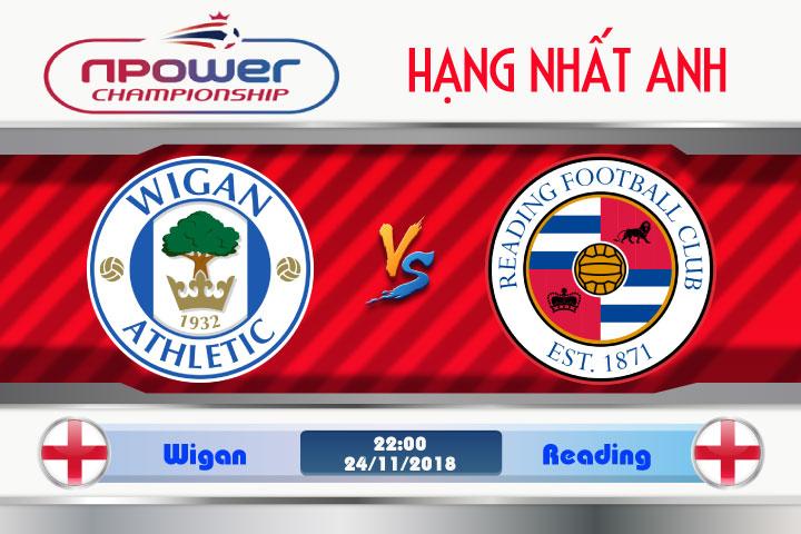 Soi kèo Wigan vs Reading 22h00, ngày 24/11: Chấm dứt con khủng hoảng