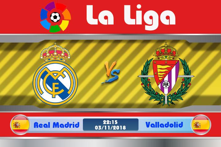 Soi kèo Real Madrid vs Valladolid 22h15, ngày 03/11: Đế chế có suy tàn ?