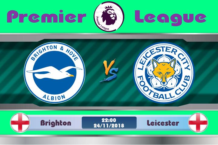 Soi kèo Brighton vs Leicester 22h00, ngày 24/11: Mòng biển gặp nạn