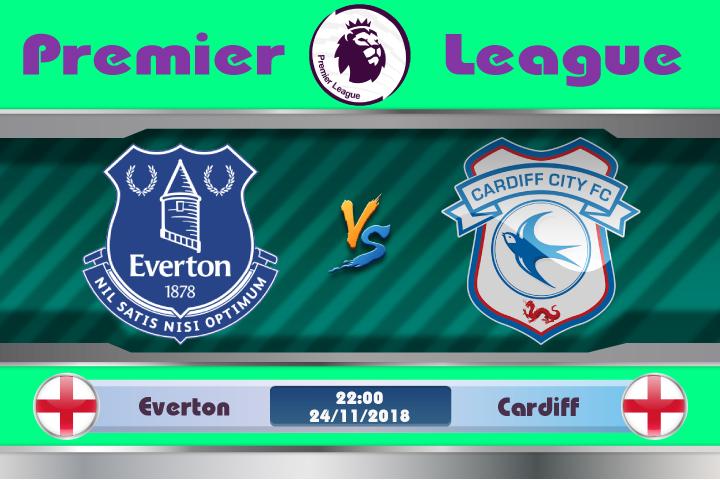 Soi kèo Everton vs Cardiff 22h00, ngày 24/11: Cuộc vui qua nhanh
