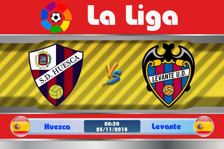 Soi kèo Huesca vs Levante 00h30, ngày 25/11: Thể hiện bản lĩnh