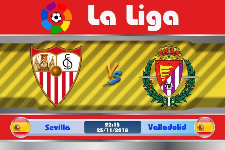 Soi kèo Sevilla vs Valladolid 22h15, ngày 25/11: Không được chủ quan