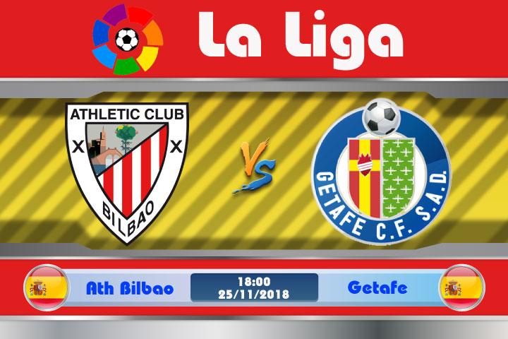 Soi kèo Ath Bilbao vs Getafe 18h00, ngày 25/11: Chấm dứt nỗi đau