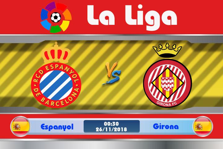 Soi kèo Espanyol vs Girona 00h30, ngày 26/11: Tương đồng mọi mặt