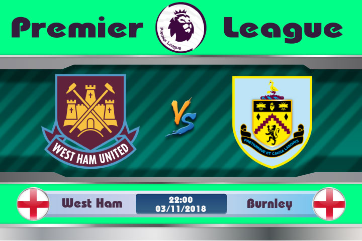 Soi kèo West Ham vs Burnley 22h00, ngày 3/11: Bại binh phục hận