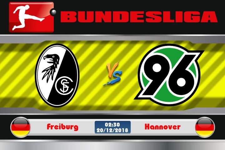 Soi kèo Freiburg vs Hannover 02h30 ngày 20/12: Cơ hội gượng dậy