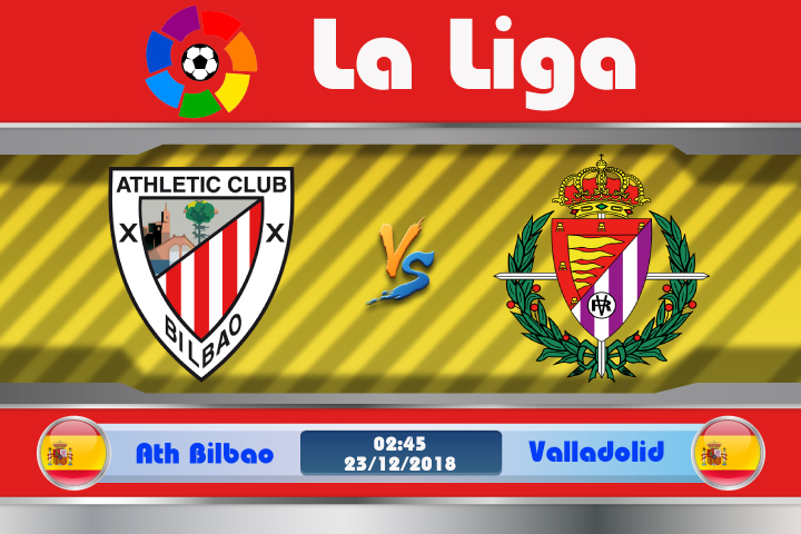 Soi kèo Ath Bilbao vs Valladolid 02h45 ngày 23/12: Không dễ chiến thắng