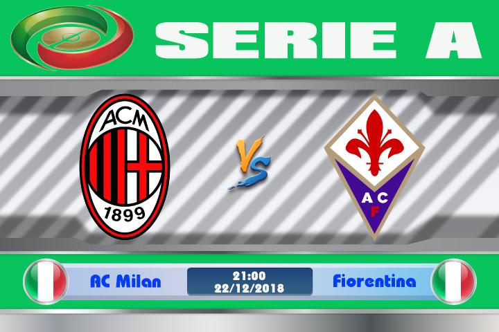 Soi kèo AC Milan vs Fiorentina 21h00 ngày 22/12: Ám ảnh tại thành Milan