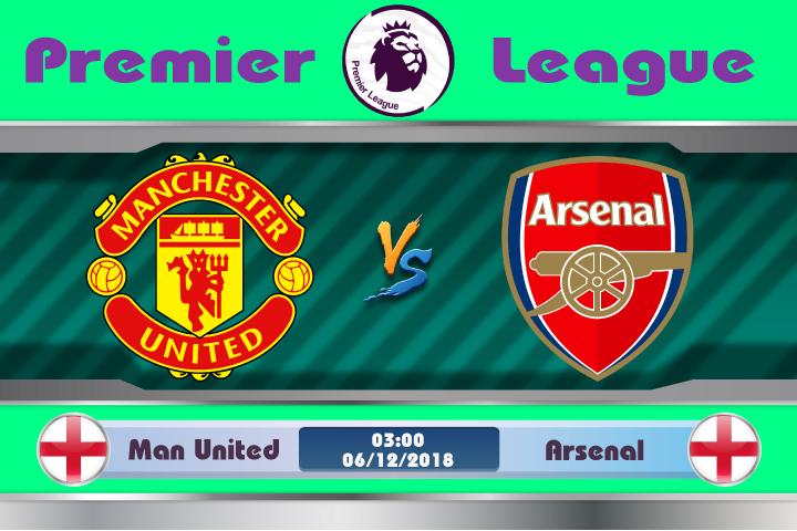 Soi kèo Manchester United vs Arsenal 03h00 ngày 06/12: Lịch sử có lặp lại
