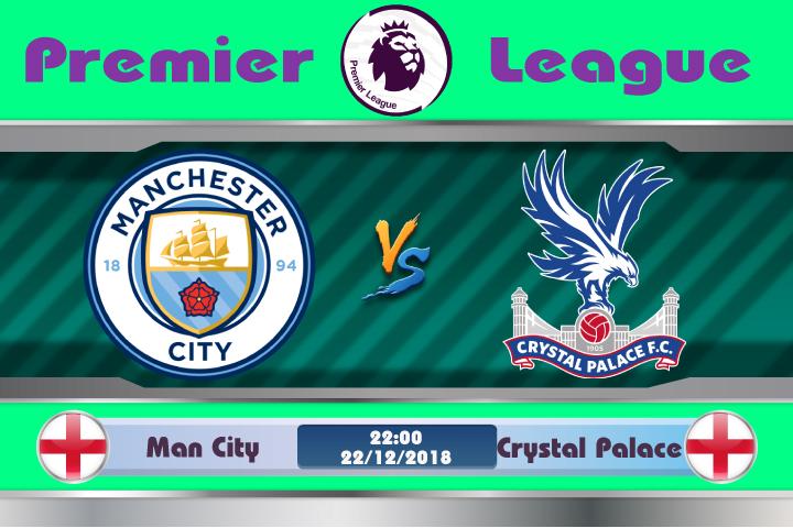 Soi kèo Man City vs Crystal Palace 22h00 ngày 22/12: Trở lại vùng tử địa