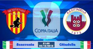 Soi kèo Benevento vs Cittadella 21h00 ngày 04/12: Không dễ bước tiếp