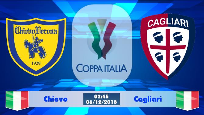 Soi kèo Chievo vs Cagliari 02h45 ngày 06/12: Thế trận cân bằng