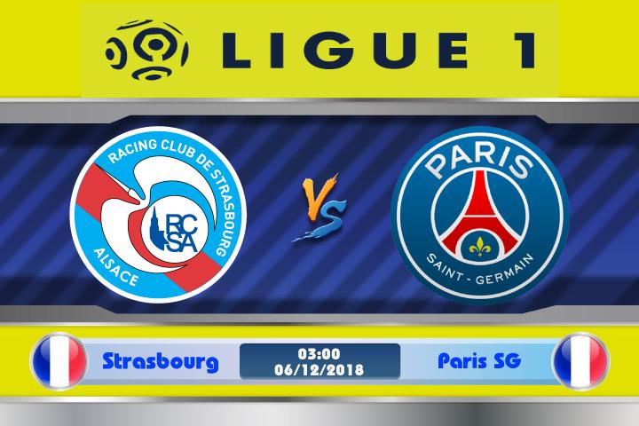 Soi kèo Strasbourg vs Paris SG 03h00 ngày 06/12: Nối dài thăng hoa