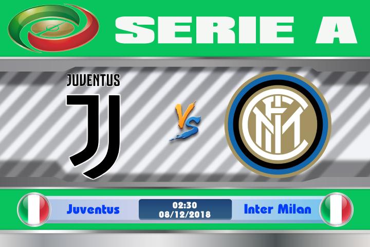 Soi kèo Juventus vs Inter Milan 02h30 ngày 08/12: Thử thách khó khăn