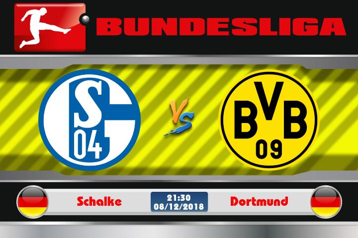 Soi kèo Schalke vs Dortmund 21h30 ngày 08/12: Dấu hiệu đuối sức