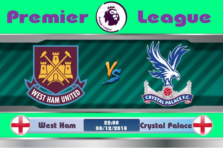 Soi kèo West Ham vs Crystal Palace 22h00 ngày 08/12: Chỉ toàn đại thắng