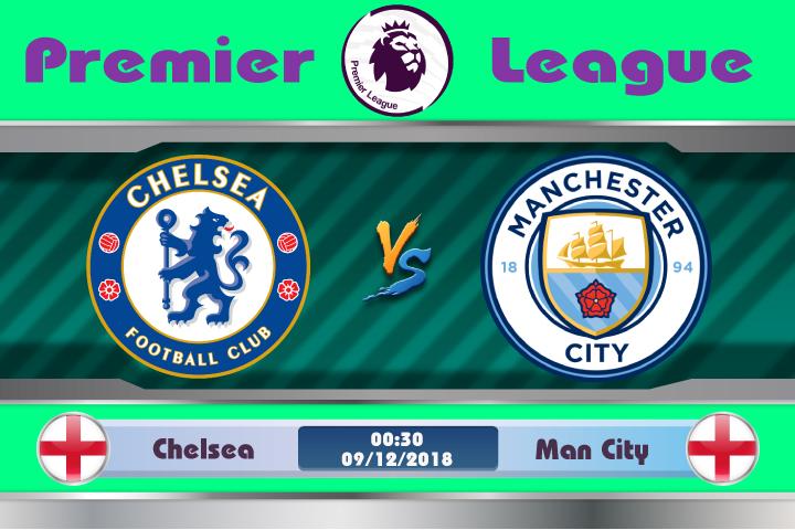 Soi kèo Chelsea vs Man City 00h30 ngày 09/12: Long tranh hổ đấu