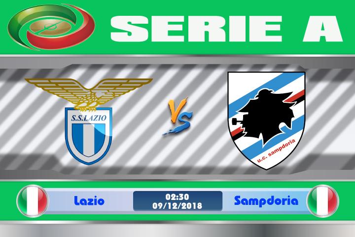 Soi kèo Lazio vs Sampdoria 02h30 ngày 09/12: Giải hạn chiến thắng